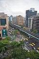 Taiwan 2009 Taipei Metro MRT at RenAi Boulevard FRD 7109.jpg