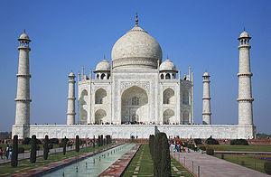 Taj Mahal Exterior - colors corrected
