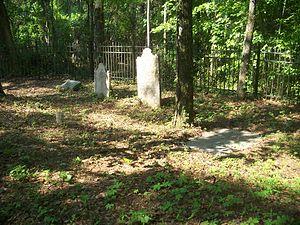 Blackwood-Harwood Plantations Cemetery - Image: Tallahassee FL Blackwood Harwood Cemetery 03