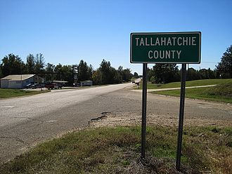 Tallahatchie County, Mississippi - Image: Tallahatchie County MS 002