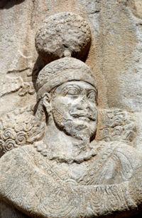 Taq-e Bostan - Ardashir II.jpg