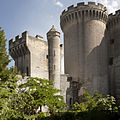 Tarascon-Château du Roi René-Tour Entrée-Tour NEF-20130617.jpg
