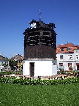 Tata, Hungary - Belfry of Tata