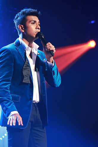 Taufik Batisah - Taufik Batisah performing at ABU TV Song Festival in Seoul, Korea.