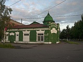 Tayga Town in Kemerovo Oblast, Russia