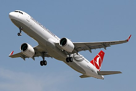 The A321neo has larger CFM LEAP or PW1000G turbofans Tc-lsa (42253295235).jpg