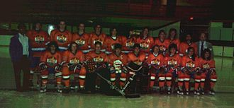 Netherlands men's national ice hockey team - The national team for the 1987 World Championships.
