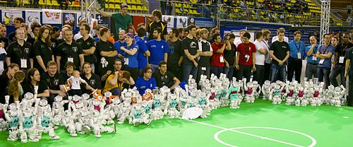 Teams and robots - 2013.jpg