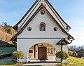 Techelsberg Sankt Martin Pfarrkirche hl. Martin Vorhalle W-Ansicht 08122019 7644.jpg
