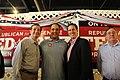 Ted Cruz, Rick Santorum, and Congressman Michael Burgess (7742715980).jpg
