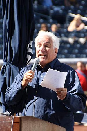 Ted Leitner - Leitner at 2014 San Diego Padres Fan Fest