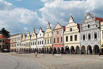 Vysočina Region - Main Square, Telč