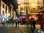 Temple Bar Dublin at Night