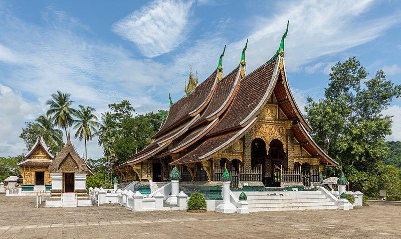 File:Temple Wat Xieng Thong - Luang Prabang - Laos.jpg