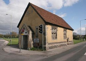 Thatcham - Chapel of St. Thomas the Martyr was erected around 1304