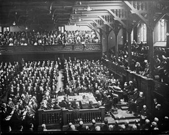 New College, Edinburgh - The 1910 World Missionary Conference held in the General Assembly Hall