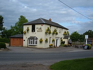 Soulbury - The Boot public house.