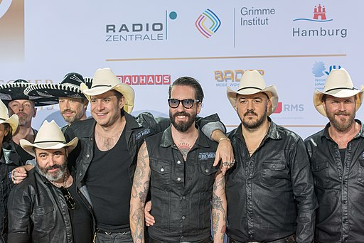 The BossHoss Steckbrief | The BossHoss - Deutscher Radiopreis Hamburg 2016 05