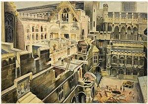 Vivian Pitchforth - The Chamber, The House of Commons (Art.IWM ART LD 1581)