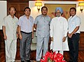 The Chief Minister of Mizoram, Shri Lal Thanhawla with a delegation calling on the Prime Minister, Dr. Manmohan Singh, in New Delhi on July 09, 2012.jpg