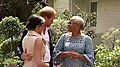 The Duke and Duchess of Sussex meet Graça Machel 01.jpg