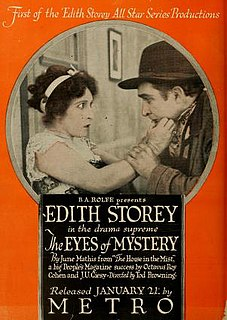 <i>The Eyes of Mystery</i> 1918 film by Tod Browning