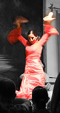The Flamenco Dancer (II) La danseuse de flamenco (II).jpg