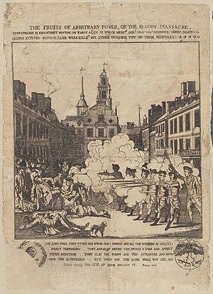 Henry Pelham (engraver) - Henry Pelham's engraving copied by Paul Revere