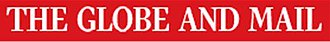 Newspaper of record - Image: The Globe and Mail logo 2011