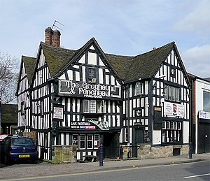 Bilston - Image: The Greyhound and Punchbowl in Bilston, Wolverhampton geograph.org.uk 1796318