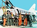 The Mercury Seven in front of a F-106 Delta Dart.jpg