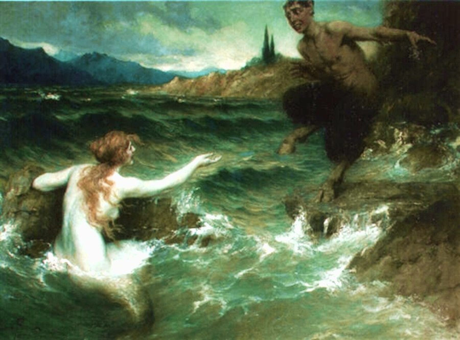 The Mermaid and the Satyr