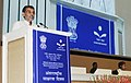 The Minister of State for Human Resource Development, Shri Upendra Kushwaha addressing the gathering at an event to celebrate the International Literacy Day, in New Delhi on September 08, 2017.jpg