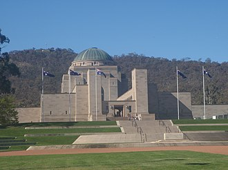 Museum architecture - Image: The National War Memorial, Canberra