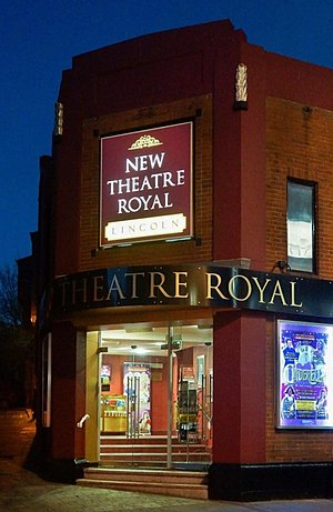 New Theatre Royal Lincoln - Image: The New Theatre Royal Lincoln