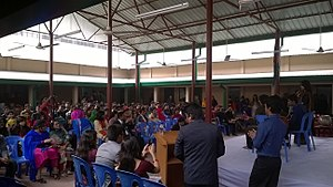 Notre Dame University Bangladesh - Image: The Orientation Ceremony for the Second Batch of NDUB