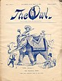 The Owl, Vol. 1, No. 8 (May 18, 1889) cover.jpg