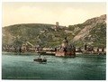 The Pfalz on the Rhine, Coub (i.e., Kaub), the Rhine, Germany-LCCN2002714074.tif