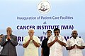 The Prime Minister, Shri Narendra Modi at the inauguration of the Patient Care Facilities at Cancer Institute (WIA), Adyar, Chennai, in Tamil Nadu.jpg