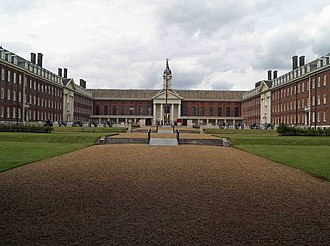 Royal Hospital Chelsea - Figure Court of the Royal Hospital Chelsea