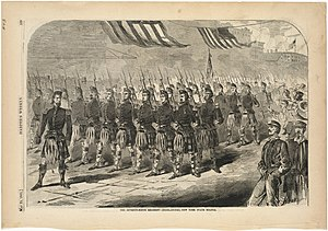 79th New York Volunteer Infantry - Parade, 1861