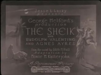 the sheik 1921 movie simple english wikipedia the