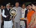 The Speaker, Lok Sabha, Shri Somnath Chatterjee inaugurating the Exhibition on Indian Parliamentary Democracy – A Journey Forward, in Chandigarh on September 21, 2008.jpg
