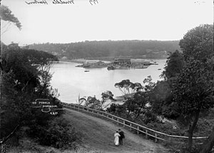 The Spit, New South Wales - The Spit, Middle Harbour (pre-1900)