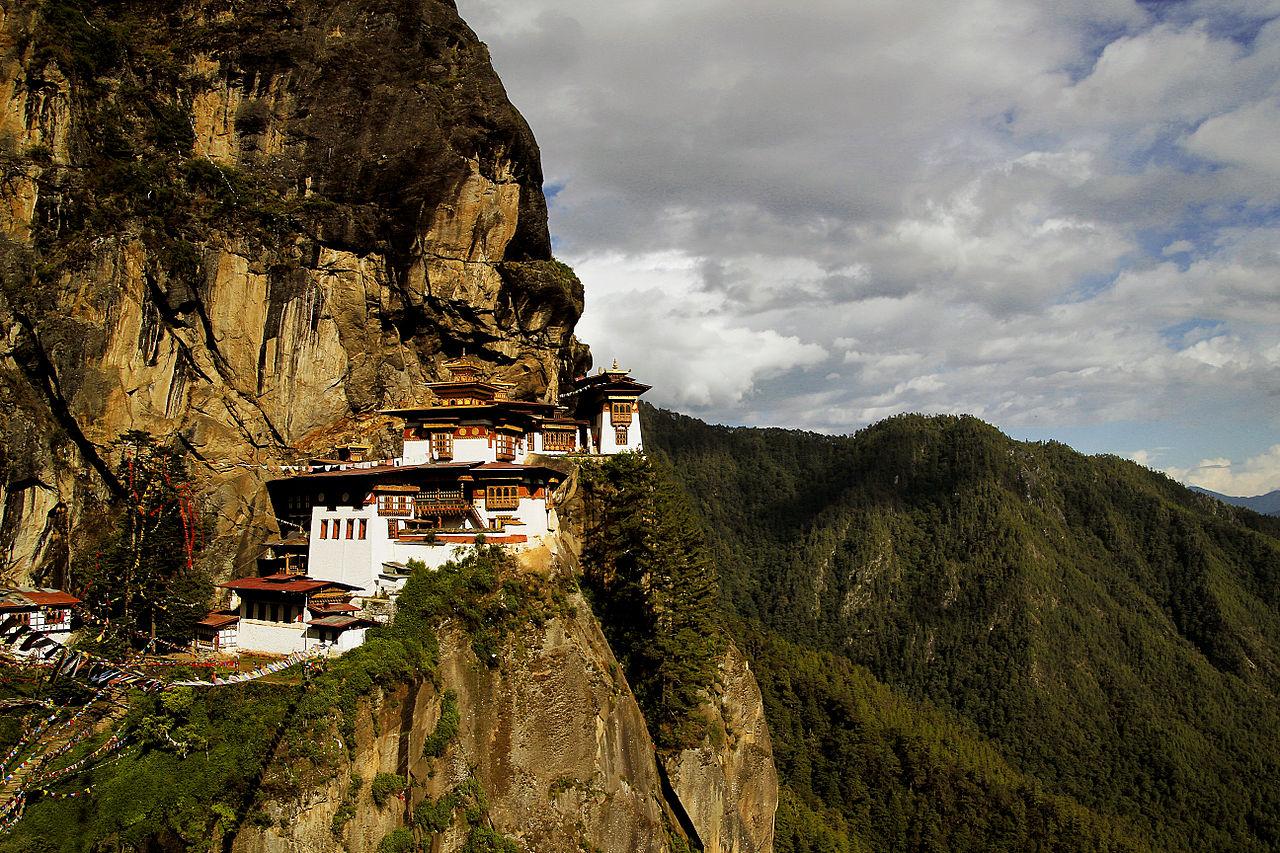 Paro Taktsang Bhutan photo Wikimedia