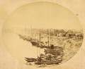 The Town of Fancheng, on the Bank of the Han Jiang (Han River). Hubei Province, China, 1874 WDL2101.png