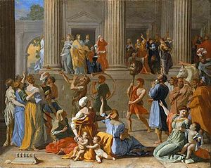 Saul (Handel) - The Triumph of David by Nicolas Poussin