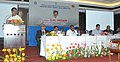 The Union Minister for Shipping, Shri G.K. Vasan addressing at the signing ceremony of an MoU between Paradip Port Trust and Gas Authority of India Ltd. for setting up of LNG Terminal, in Bhubaneswar on October 26, 2013.jpg