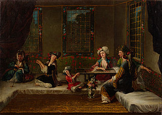 Women Embroidering