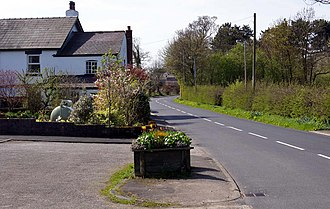 Treales, Roseacre and Wharles - Image: The Village of Treales. Photograph by Brian Young 2011